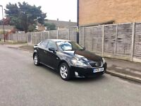 2006 LEXUS IS220D – Black, Diesel, Low Mileage, FSH, MOT, Taxed