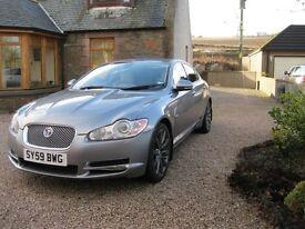 "Jaguar XF Premium Luxury 3.0 V6 Auto 2009 (59) ""Lunar Grey with Cream Leather"""