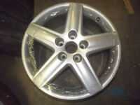 GENUINE AUDI A3 5 SPOKE ALLOY WHEELS 7.5 x 17 - 112MM pcd REFURBED BETTER THAN NEW A4 S4 B8 S LINE