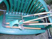 Garden tools, very good condition