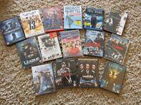 15 Assorted DVDs / BluRays