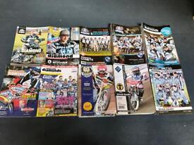 Newcastle diamonds speedway programmes