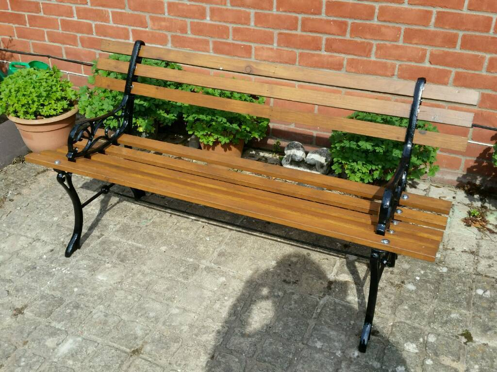 Cast iron garden bench lovely condition 2 seater wooden outdoor bench  garden seat vgccast iron garden bench lovely condition 2 seater wooden  outdoorOutdoor Bench Seats Gumtree  Full Size of Bench outdoor Bench  . Outdoor Bench Seats Gumtree. Home Design Ideas