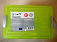 Cassetti 4.5L Storage Boxes, 4 Pack