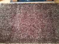 Brown / biege rug