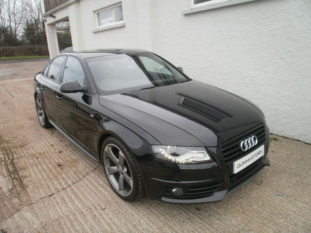 2011 audi a4 2 0 tdi 136 s line black edition in. Black Bedroom Furniture Sets. Home Design Ideas