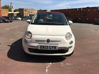 Fiat 500 lounge 2013 convertible top condition
