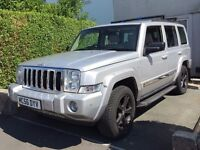 2007 Jeep Commander 3.0 CRD V6 Limited Station Wagon 4x4
