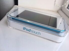 IPod touch 5th Generation in blue. Looks like new, complete with box . Perfect Christmas gift.