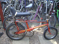 ORIGINAL RALEIGH CHOPPER ONE OF MANY QUALITY BICYCLES FOR SALE