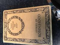 Old Robin Hood book