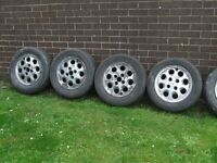 FORD PEPPERPOT ALLOY WHEELS