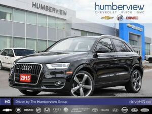 2015 Audi Q3 2.0T Technik ROOF|NAVI|BACK UP CAM