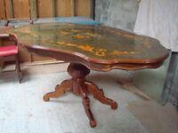 Italian Rococo Dining Table