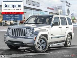 2011 Jeep Liberty Sport Leather|Sunroof|4X4|Low KMS