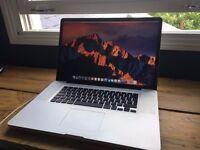 """17"""" Macbook Pro A1297 ,i7 Processor, 8GB, 1TB hard Drive."""