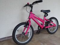 Ridgeback Melody Kids Bike with 16 inch wheels for child 6-8 years old. Just right for Christmas