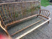 Ercol Jubilee 3 Seater 2 Chairs part stripped