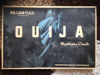 GREAT FOR HALLOWEEN Rare Willam Fuld Antique QUIJA BOARD Been in storage (Best place for it )