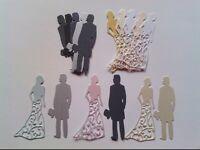 CRAFT DIE CUT BRIDE & GROOM / WEDDING