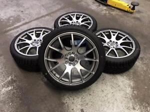 18 Eclipse Wheels 5x100/5x114.3 and Winter Tires 225/40R18 (Honda, Toyota, Kia, Nissan, Mitsubishi ....) Calgary Alberta Preview