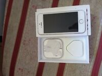 Iphone 5s 16GB White Sim Lock EE, ORANGE,T-MOBILE