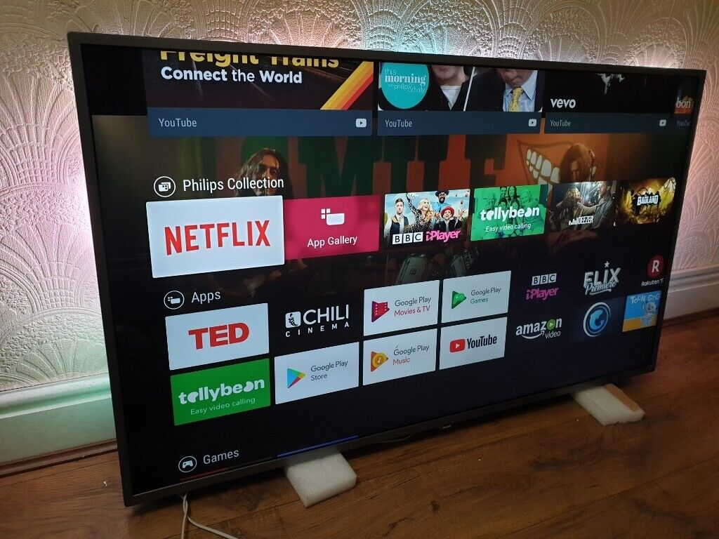 Philips 55PUS7303/12 55-Inch 4K Ultra HD Android Smart TV with HDR Plus and  Ambilight 3-sided   in Salford, Manchester   Gumtree