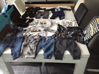 Baby boys 0-3 months clothes all good condition.