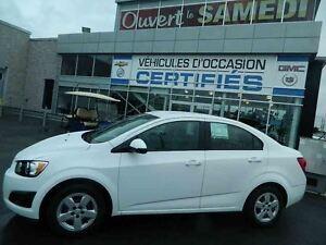 2014 Chevrolet Sonic LS AIR CLIMATISE **139$ PAR MOIS 0$ COMPTAN
