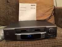 Sanyo VHS video cassette recorder