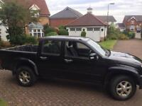 Isuzu redeo Denver 2.5 turbo diesel intercooler double cab pick up truck 57reg 4wd full mot