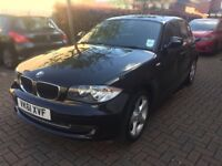 2011 BMW 1 series Sports 118d Diesel, only 54k miles, MOTed 6/11/2018, Alloys, not 116i, 318d, 320d
