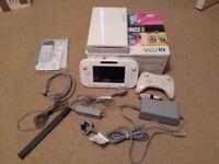 Wii U White Console 8gb (5.5.1E Firmware)