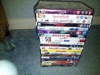 Wholesale Job-lot of 66 DVDs