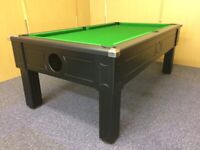 Square Leg Pool Table (7x4 Slate Bed) **NEW**