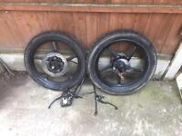 Yamaha Ybr 125 wheels