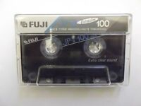 2 Fuji JPII C100 Chrome audiocassettes - Made in Japan - blank and ready to record