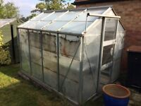 Greenhouse 8 x 6 FREE