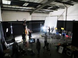 'HUGE Film & Photography Studio, Warehouse Location,Music Video,Photo Shoots,Fashion,Rehearsal Space