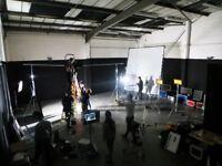 'HUGE Film Studio, Warehouse Location,Music Video,Photography, Photo Shoots,Dance Rehearsal Space