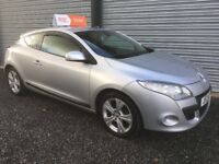 2011 RENAULT MEGANE COUPE 1.5 DCI DYNAMIQUE TOM TOM ROAD TAX £20.00 WARRANTY 6 MONTHS INDOOR VIEWING