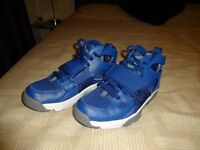 Blue Hirache high tops size 3