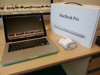 "Apple MacBook Pro 13"" 2.5GHz 4GB 500GB Core i5 with Boxed - Mint Condition"
