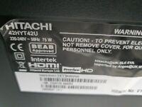 Hitachi tv 42 inch full HD
