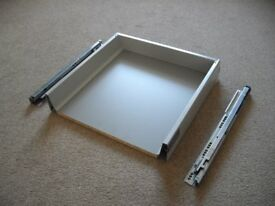 Pair of heavy duty 500mm kitchen drawer boxes by DIY Kitchens.