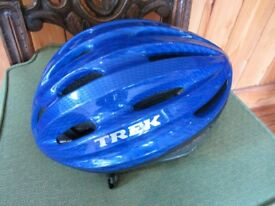 Blue Trek Vapor Push Bike Helmet Size M/L