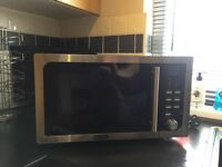 Delonghi stainless steel 23l microwave