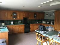 Large Kitchen including intergrated appliances & breakfast bar
