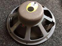 """JBL D130F Classic Vintage 15"""" Premium Alnico Speaker - Requires Recone"""