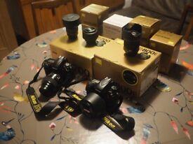 Various Nikon Lenses